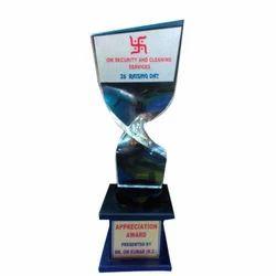 Exemplary Acrylic Trophy