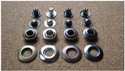 Round Jindal Rivets Metal Button For Garments, Packaging Type: Packet