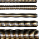 Stainless Steel 304 Threaded Rod For Manufacturing, Thickness: 3-4 Inch