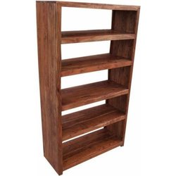 Brown 5 Shelves Wooden Rack, For Home