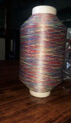 Polyester 150 Roto Space Dyed Yarn for Weaving