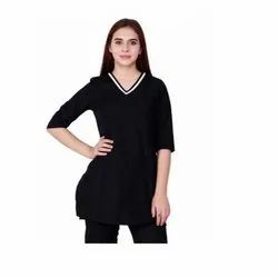 UB-TOP-50 Formal Black Tunic
