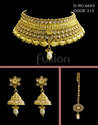 Traditional Polki Choker Necklace Set