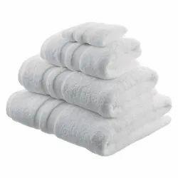 White Plain Cotton Salon Towel