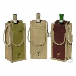One Bottle Jute Wine Packing Bag