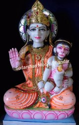 Marble Anjjanni Mata Statue