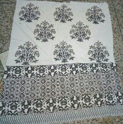 Multi-Color Hand Block Print Double Bed Sheet 92x108