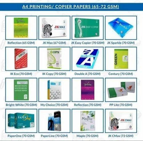 Printer Copier Paper A4