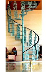 Black Cast Iron Spiral Staircases