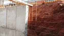 RCC Retaining Walls.