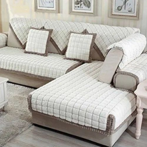 Pilow And Sofa Cover White Pillow