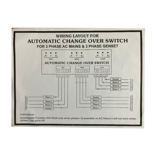 changeover wiring diagram