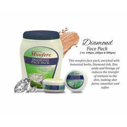 Mxofere Diamond Face Pack 200 grm