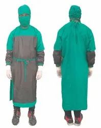 Surgeon Gown Cotton Green
