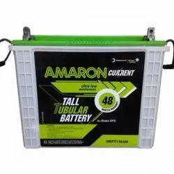 Amaron Tall Tubular Battery, Warranty: 48 Months, Capacity: 150 Ah, 12 V