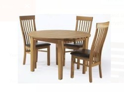 Wooden Chair With Table