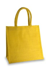 Yellow Jute Bag