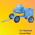 Semi-automatic Hand Feed Concrete Mixer, Speed: 18 / 20 Rpm
