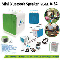 Imported Cube Mini Bluetooth Speaker, Size: Small