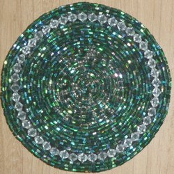 Green Bead Coaster