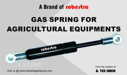 Gas Springs For Agricultural & Allied Activities