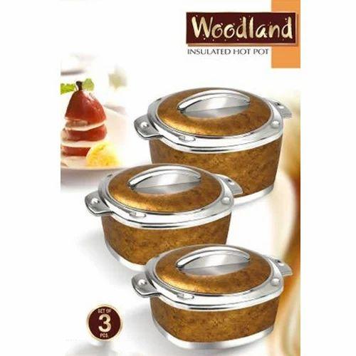Woodland Hot Pot 3 Piece Casserole Set