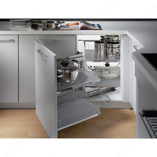 Kitchen Corner Cabinet Idea Magic Corner Kitchen Manufacturer From