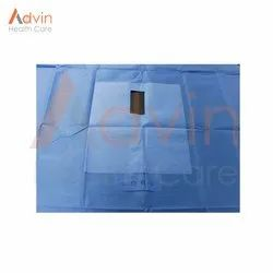 Non-Woven Plain Drapes Urology Surgery Drape Kit, Packaging Type: Packet