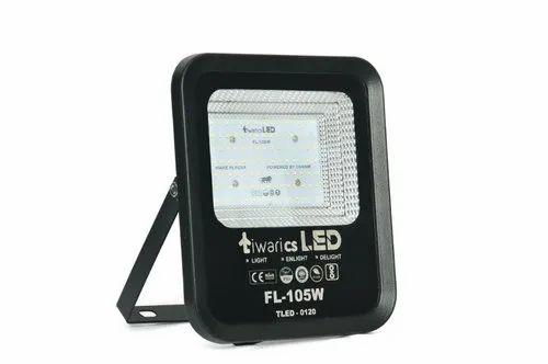 tiwaricsLED Flood Light Cool White IP65 Waterproof Aluminium Die Cast 105W - SLIM