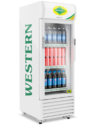 Western Visi Cooler With Canopy and Digital Temperature Display SRC 220
