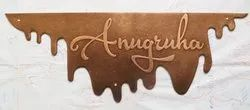 Copper name plates for houses