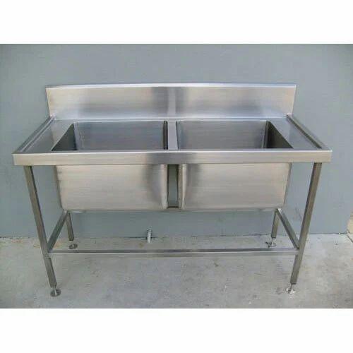stainless steel catering sink, ss kitchen sink, स्टेनलेस