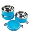 3 Layer Lunch Box Blue