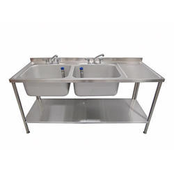 Stainless Steel Pot Wash Sink Table