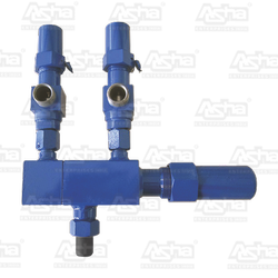 Dual Manifold with Safety Valves
