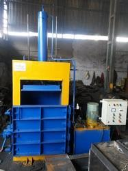 Drum Crushers Baler Machine