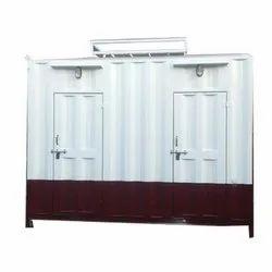 GI Two Door Portable Toilet