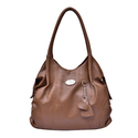 Al Jazeera Brown Ladies Plain Shoulder Bag