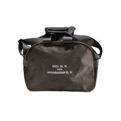 Polyester Black Adjustable Travelling Bag