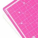 Rotatable Cutting Mat 13 x 13 Inch (Pink)