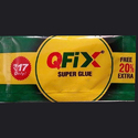White Qfix Super Glue