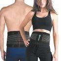 Black Acupressure Stomach Slim Belt, For Gym