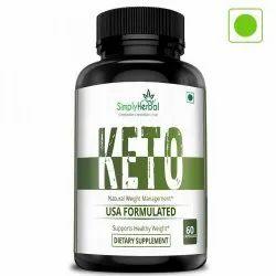 Simply Herbal Ketogenic Fat Burner 800mg - 60 Capsules, 60 Capsule, Packaging Type: Bottles