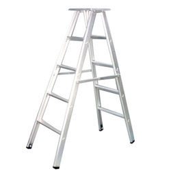 Delux Self Supporting Aluminum Ladders