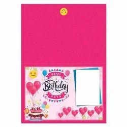 Rectangular Birthday Greeting Card