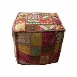 Handmade Vintage Puffs