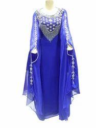 Readymade Blue Designer Gown