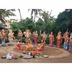 Roopsa's Fiber God and Goddess Statue