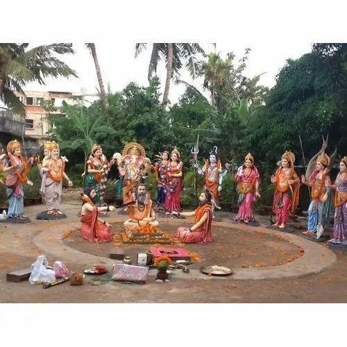 Roopsa' s Fiber God and Goddess Statue