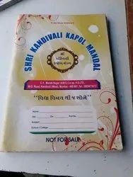 Register Notebook